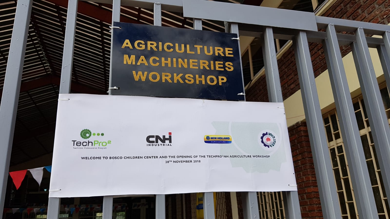 Ethiopia - Inauguration of new workshops of