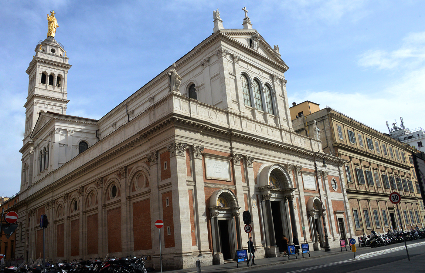 La Chiesa del Sacro Cuore di Gesù a Roma, dove Don Bosco pianse ...