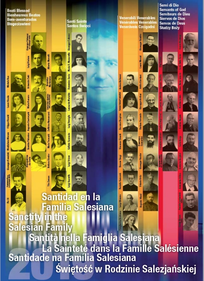 "RMG - 168 figures of sainthood in Salesian Family: ""Dossier of Salesian Postulation"""