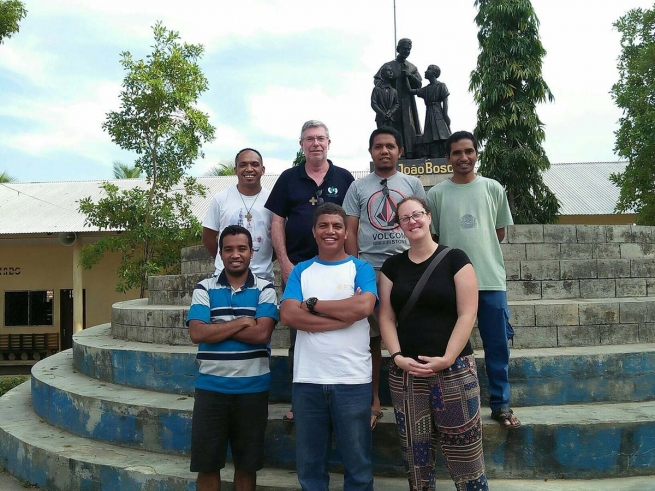 East Timor - Los Palos and Dili are first destinations of Australian Volunteers of Cagliero Project