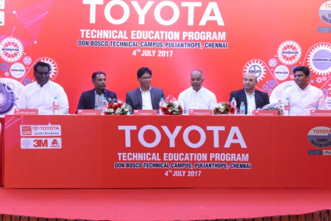 India – Toyota partnerships with Don Bosco to train Youth in Skill Training