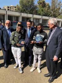 Etiopia – Il Presidente del Consiglio Conte premia due exallievi dei progetti salesiani