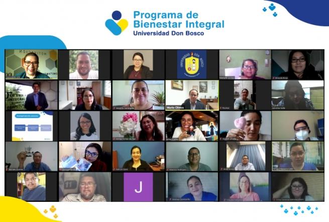El Salvador – L'« Universidad Don Bosco » présente le Programme pour le Bien-être Intégral pour sa Communauté Educative