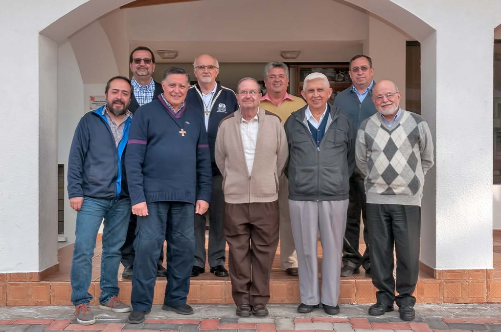 Ecuador - Regional Councilors at Formation Team Meeting