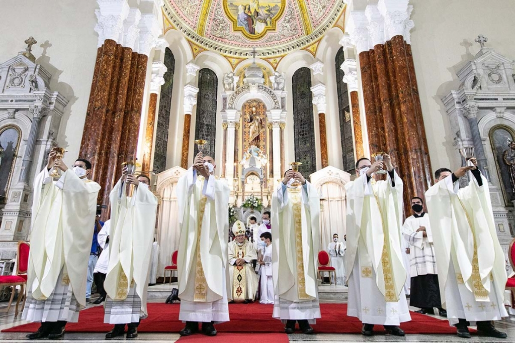 Brazil - Priestly ordination of six Salesians