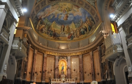 Italy – Basilica of Saint Mary Help of Christians in Rome in the House of Pius XI