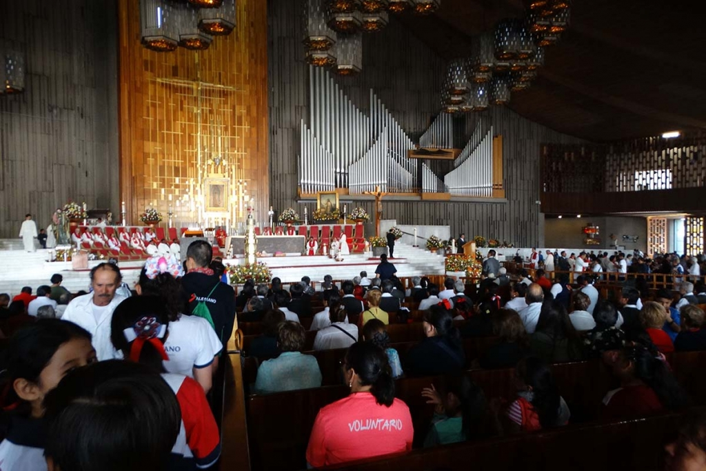 Mexico - Pilgrimage of Salesian Family to Basilica of Our Lady of Guadalupe