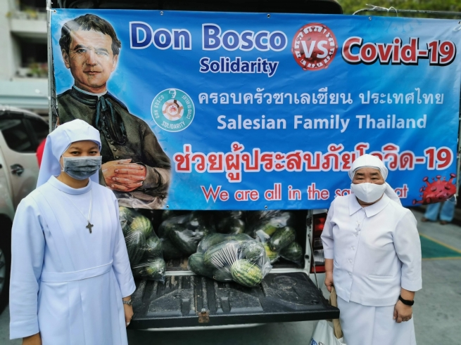Thailand – Salesian Family United in Fight Against Covid-19