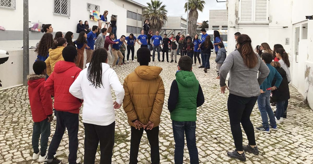 "Portugal - ""Soul Mission"" of young Salesian volunteers from Estoril"