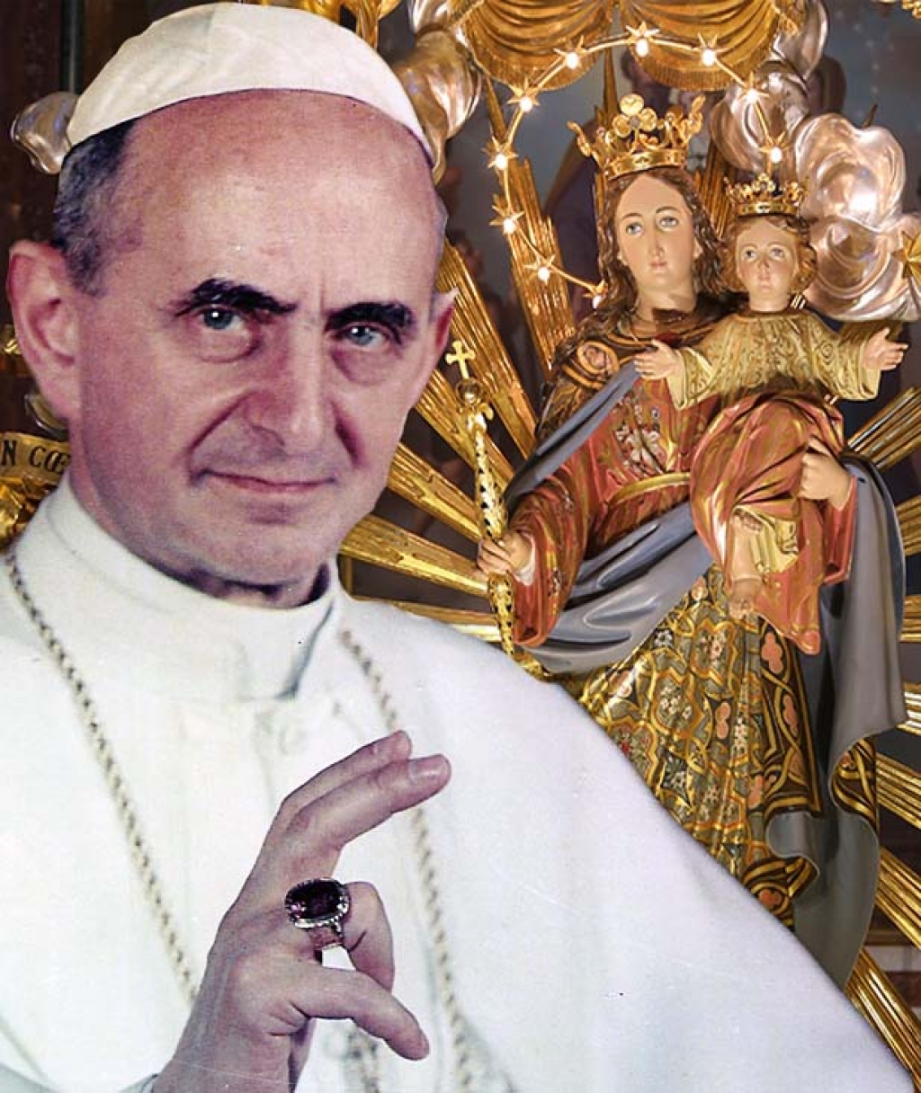 rmg the devotion of pope paul vi for mary help of christians