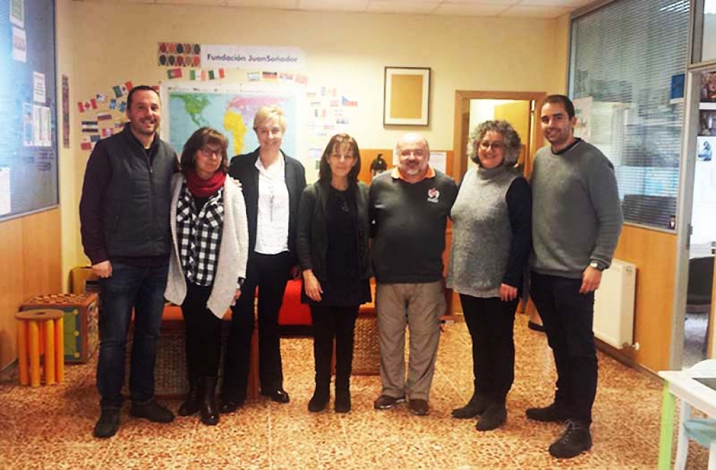 Spain - Salesian World Co-ordinator of social work and services visits Teranga Coruña