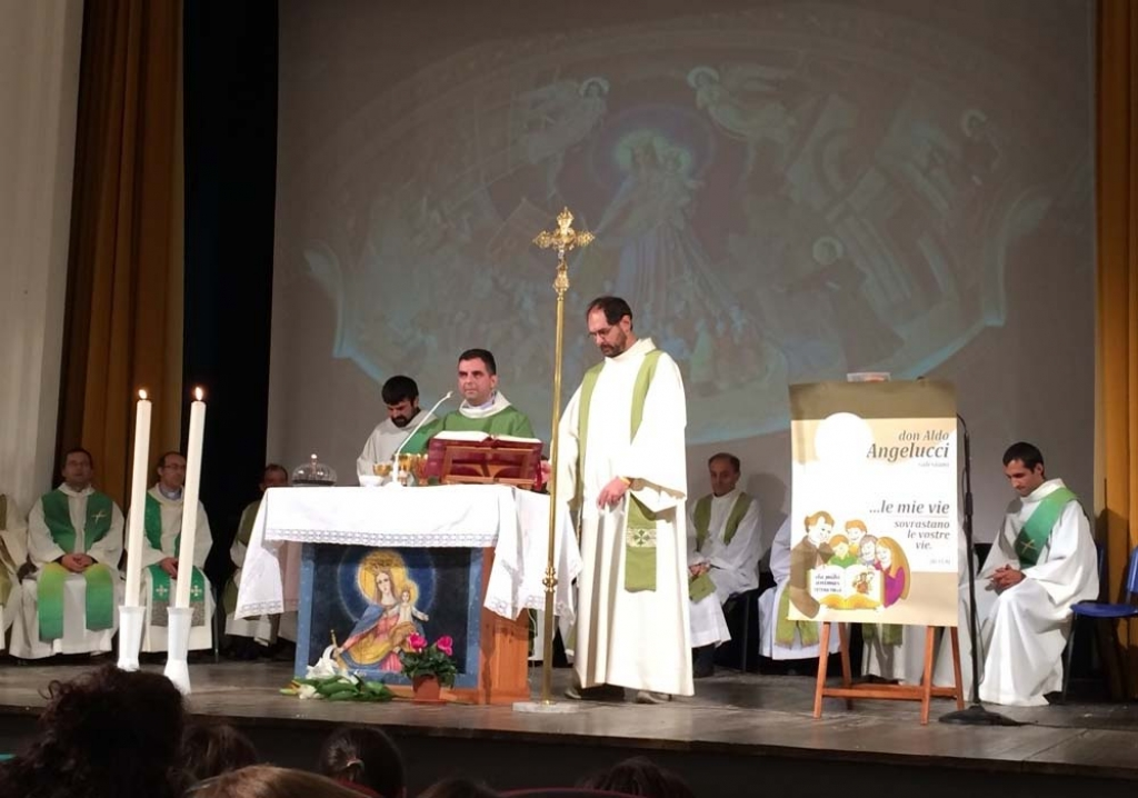 Italy - First Mass of Fr Aldo Angelucci