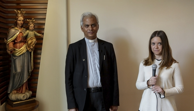 RMG - Fr Tom Uzhunnalil visits DON BOSCO NEL MONDO Foundation