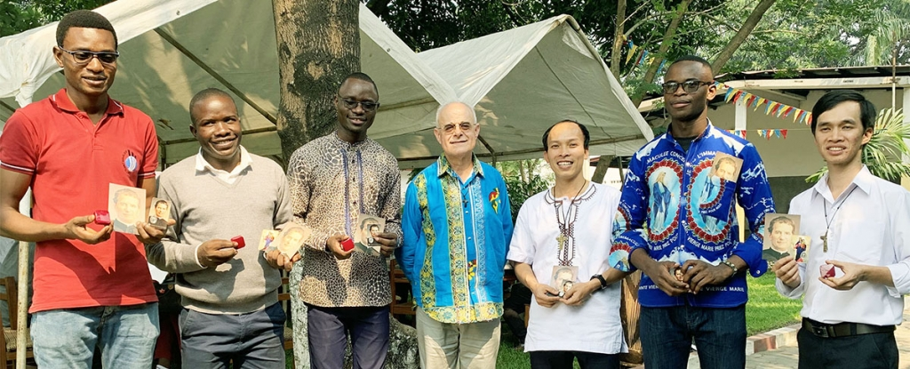 D.R. Congo - Six Salesians renew their temporary profession