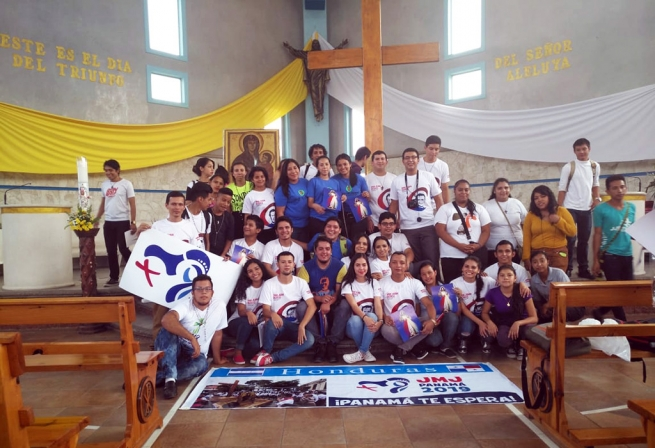 Honduras – WYD symbols arrive in Salesian houses