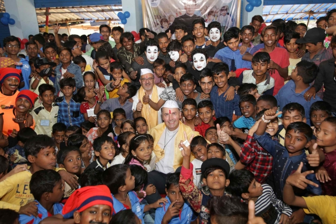 India – Grandes Celebraciones en honor al Rector Mayor en Guwahati y Mumbai