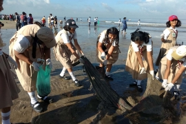 RMG – Salesian Institutions Participate in World Cleanup Day