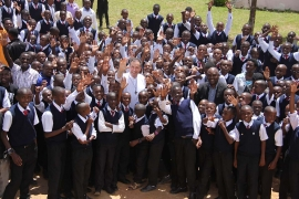 "Tanzania – The Rector Major: ""We have a beautiful Congregation"""