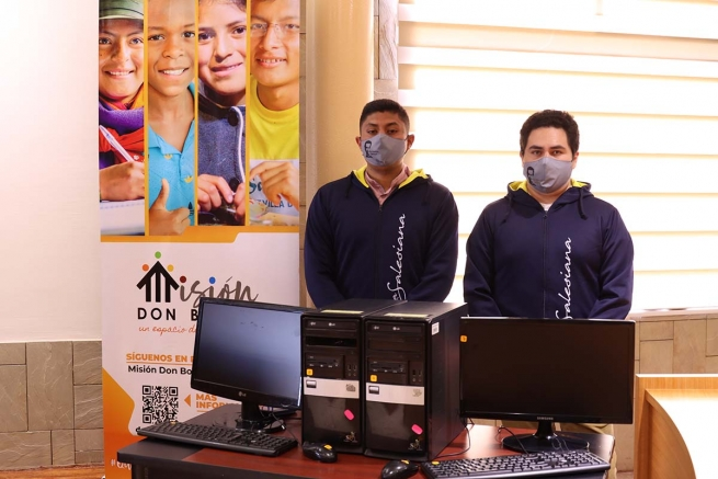 "Ecuador – ""Donate your computer"" - Salesians launch national campaign"