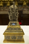 VATICAN – Reliquary of Don Bosco from 1929: a gift from Don Rinaldi to Pope Pius XI