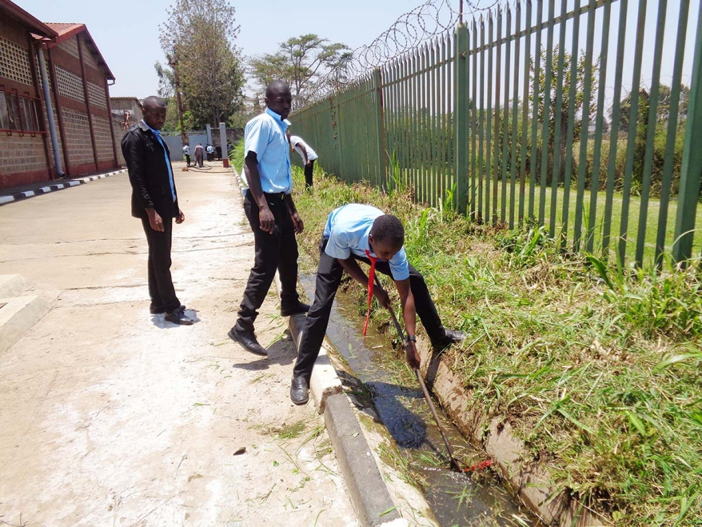 "Kenya - ""Don Bosco Boys Town"" adheres to World Cleaning Day"