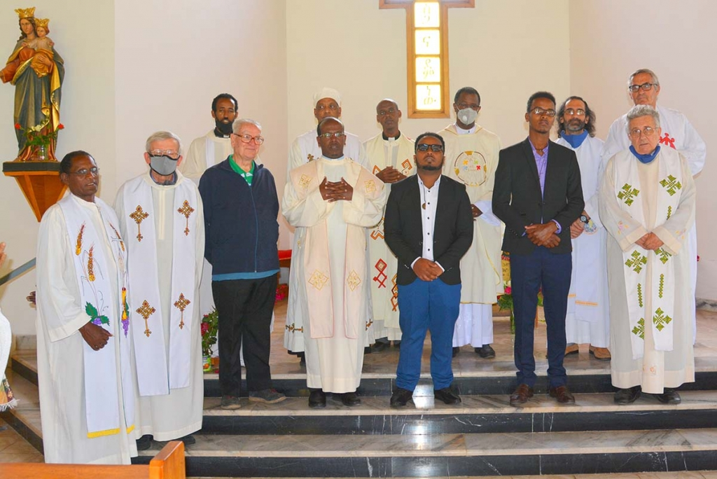 Ethiopia - First profession of 2 novices