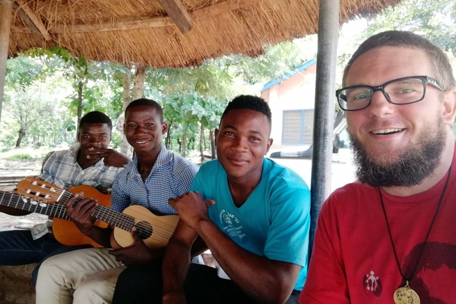 Ghana - Michal Klučka: from the heart of Europe to Africa, in Don Bosco's footsteps