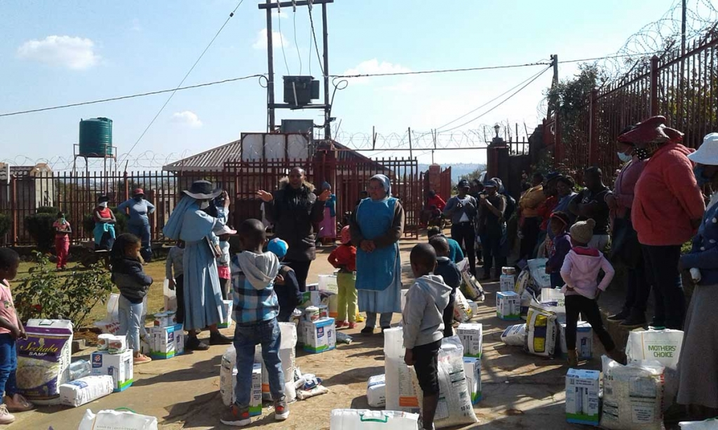 Eswatini - Missionary Sisters of Mary Help of Christians help local population