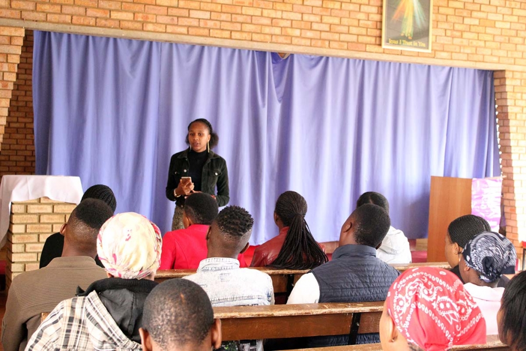 South Africa - Lenten retreat for young people of SYM