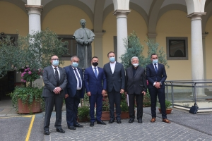 RMG – The Minister of Tourism of Malta visits the Rector Major