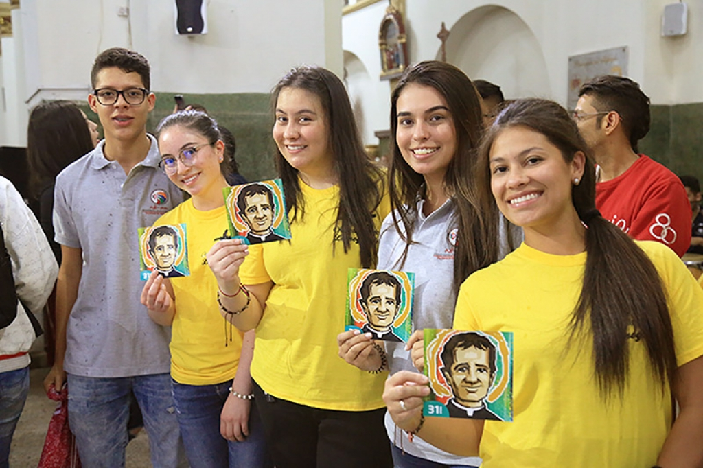 Colombia - Over 300 young people of SYM for feast of Don Bosco