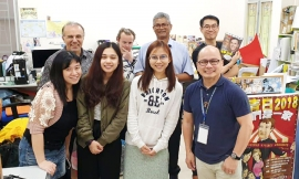 "Hong Kong – Lay invitee to GC28: ""I wish to journey hand in hand with the Salesians to reach out and help our young people"""