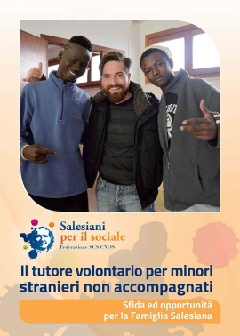 Italy - Volunteer tutor for unaccompanied foreign minors: a Salesian guide published