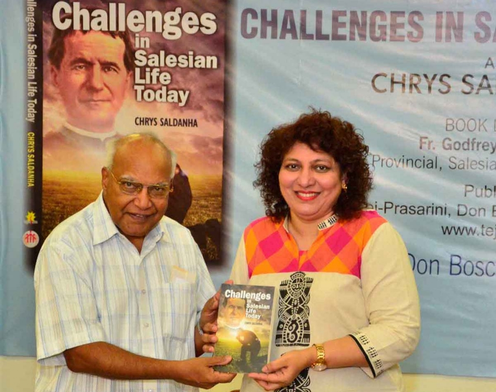 "India – Presentato il libro di don Chrys Saldanha ""Challenges in Salesian Life Today"""