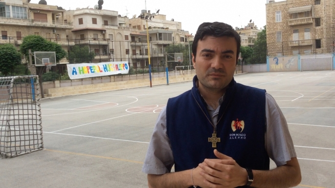 Video appeal of Fr Pier Jabloyan, SDB, from Aleppo