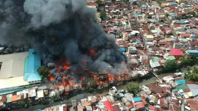 Philippines – Don Bosco Pasil affected by Fire