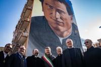 """Italia – """"Don Bosco è voluto venire qui!"""" Inaugurato il murale di Don Bosco"""