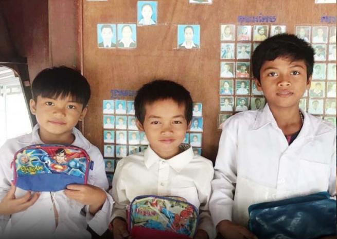 Camboya – Samai y Phirun recuperan su infancia en Don Bosco Kep