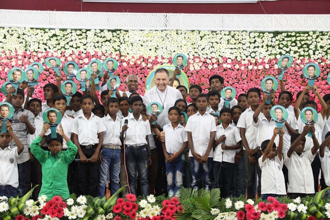 """India – El Rector Mayor en la Inspectoría de Chennai, en """"la tierra de los Salesianos"""""""