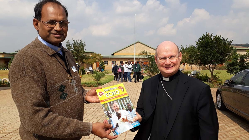 South Africa - A copy of Salesian Bulletin to Apostolic Nuncio of South Africa