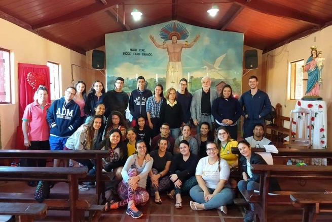"Brazil - ""Walking like disciples of Emmaus"": the project ""Ruta Juvenil Salesiana"" arrives in missions"
