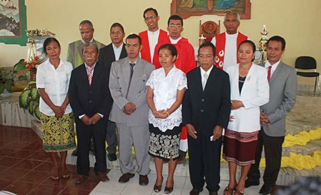 East Timor - Promises of 9 new Salesian Cooperators and birth of new local Center