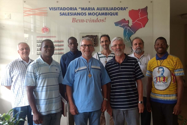 Mozambique - Extraordinary Visit of General Councilor for Social Communication has begun