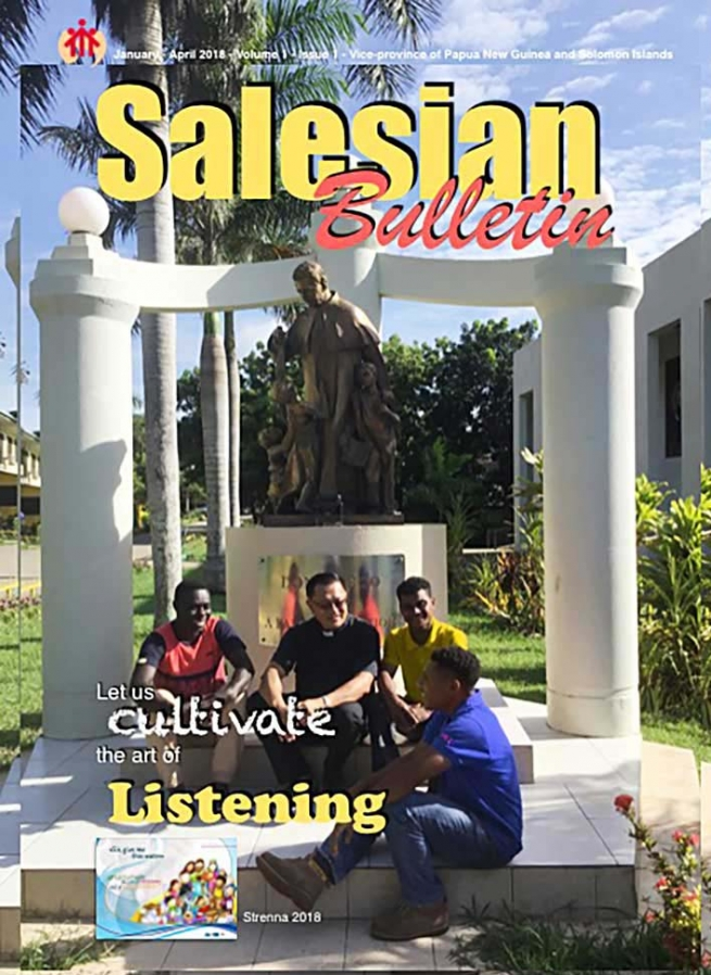 Papua New Guinea – First historical issue of PGS Salesian Bulletin