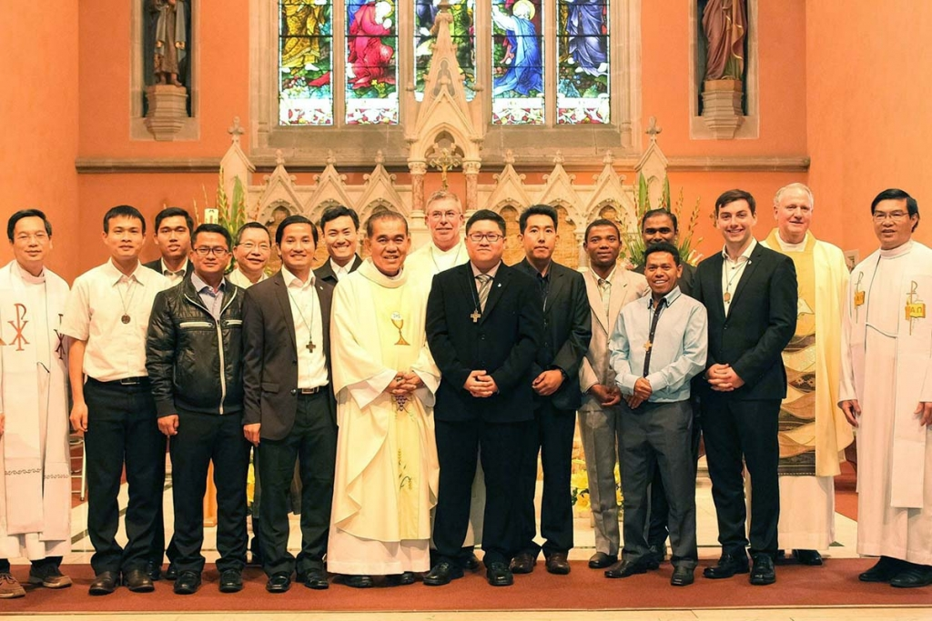 Australia - Perpetual Profession of Salesian Thomas Nattawut Kitsawad