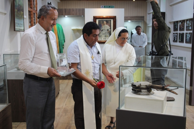 Ecuador - Sister Maria Troncatti Museum: objects and photographs of saint's journey