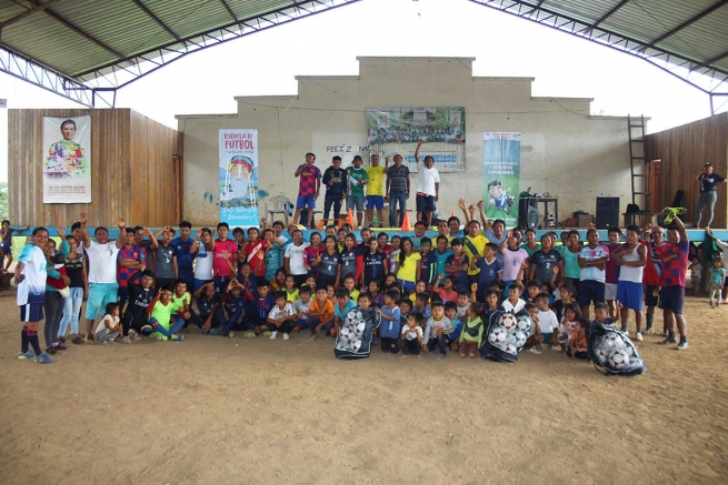 "Ecuador – ""Yankuam Jintia Football School"": proposal for evangelization of Achuar children and young people"