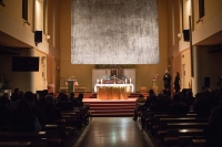 Slovakia – Lenten Curtain in the church of St. John Bosco