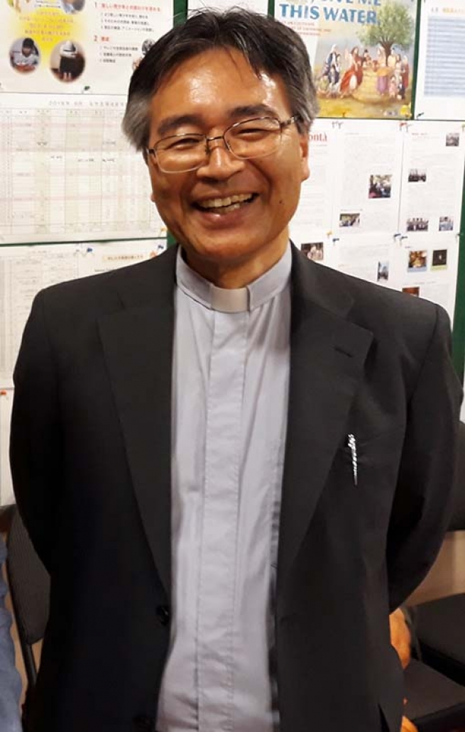 RMG – Fr. Jacob Hamaguchi appointed as 14th Provincial of Japan