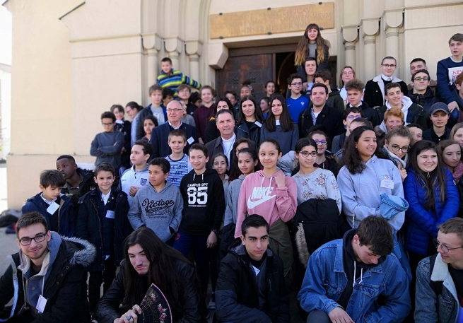 France – Rector Major's Animation Visit continues